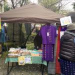 4月7日、護国神社の蚤の市に出店してきました!