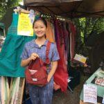 6月2日、今月も護国神社の蚤の市に出店しました!